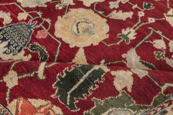Antique Indian Agra Rug BB4353