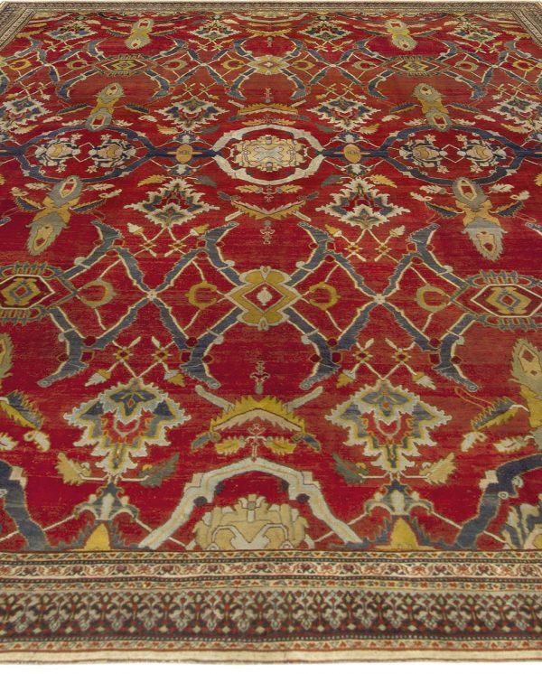 Antique Indian Agra Rug BB5109
