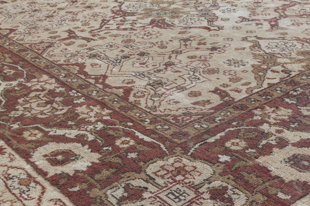 Antique Indian Amritsar Beige Carpet BB2294