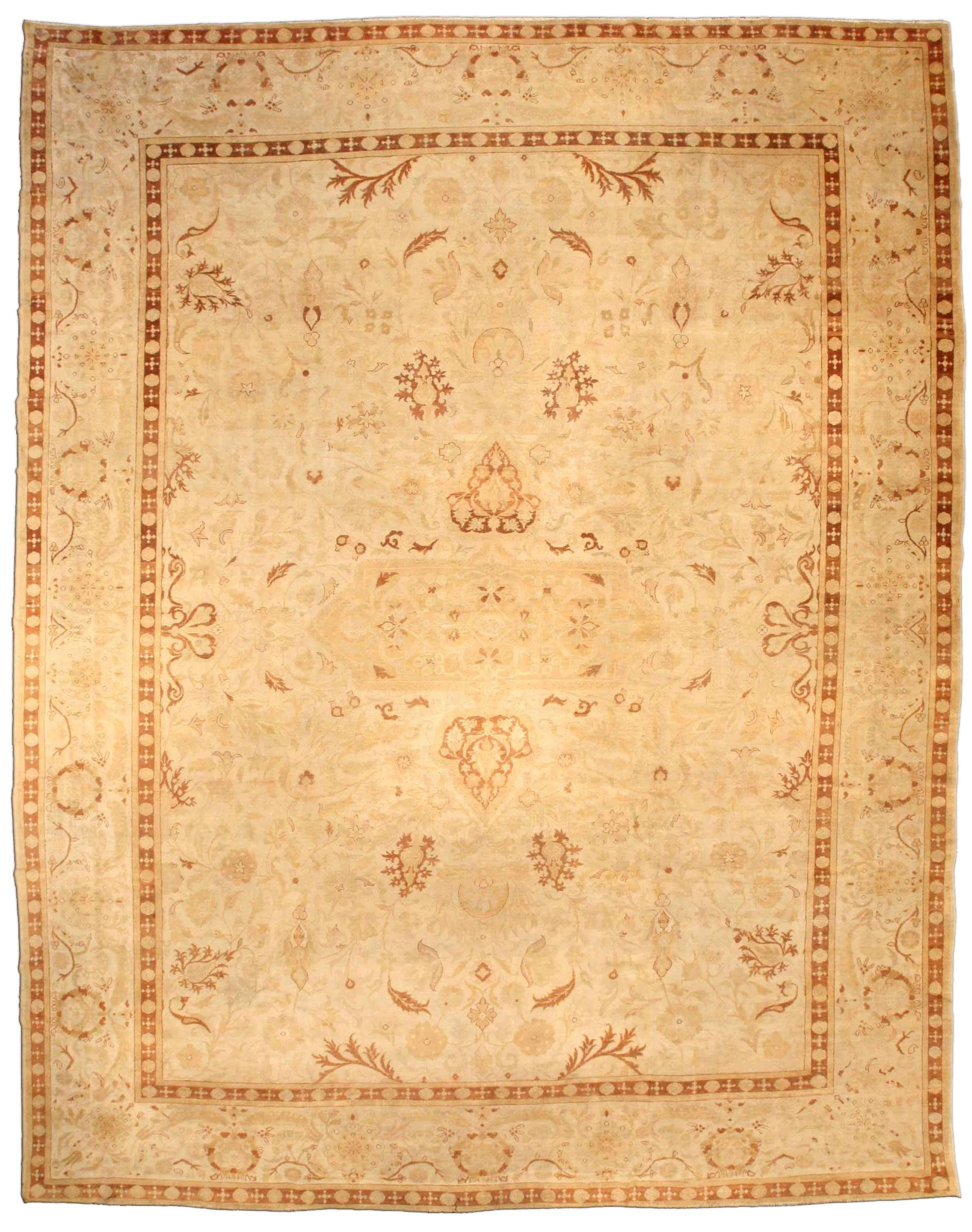 Antique Indian Amritsar Rug BB3677
