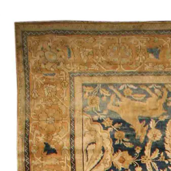 Antique Indian Amritsar Rug BB2595