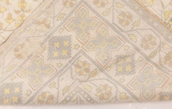 Vintage Indian Cotton Agra Rug BB1344