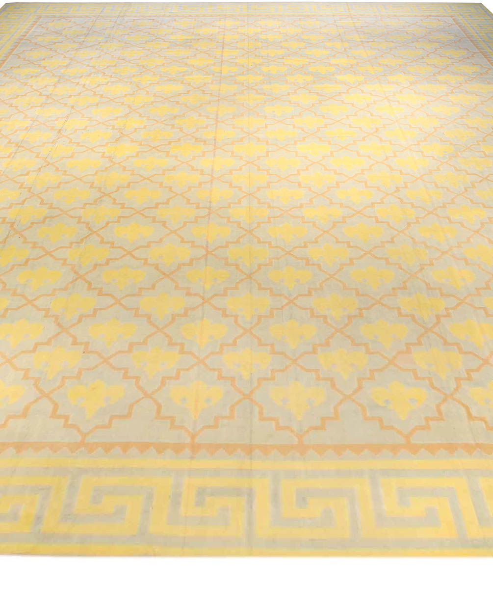 new product e2bd0 6ede7 Extra Large Vintage Indian Dhurrie Carpet BB2398 by DLB
