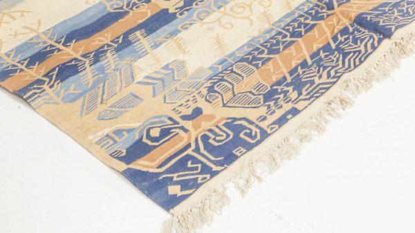 Vintage Indian Dhurrie Rug BB3923