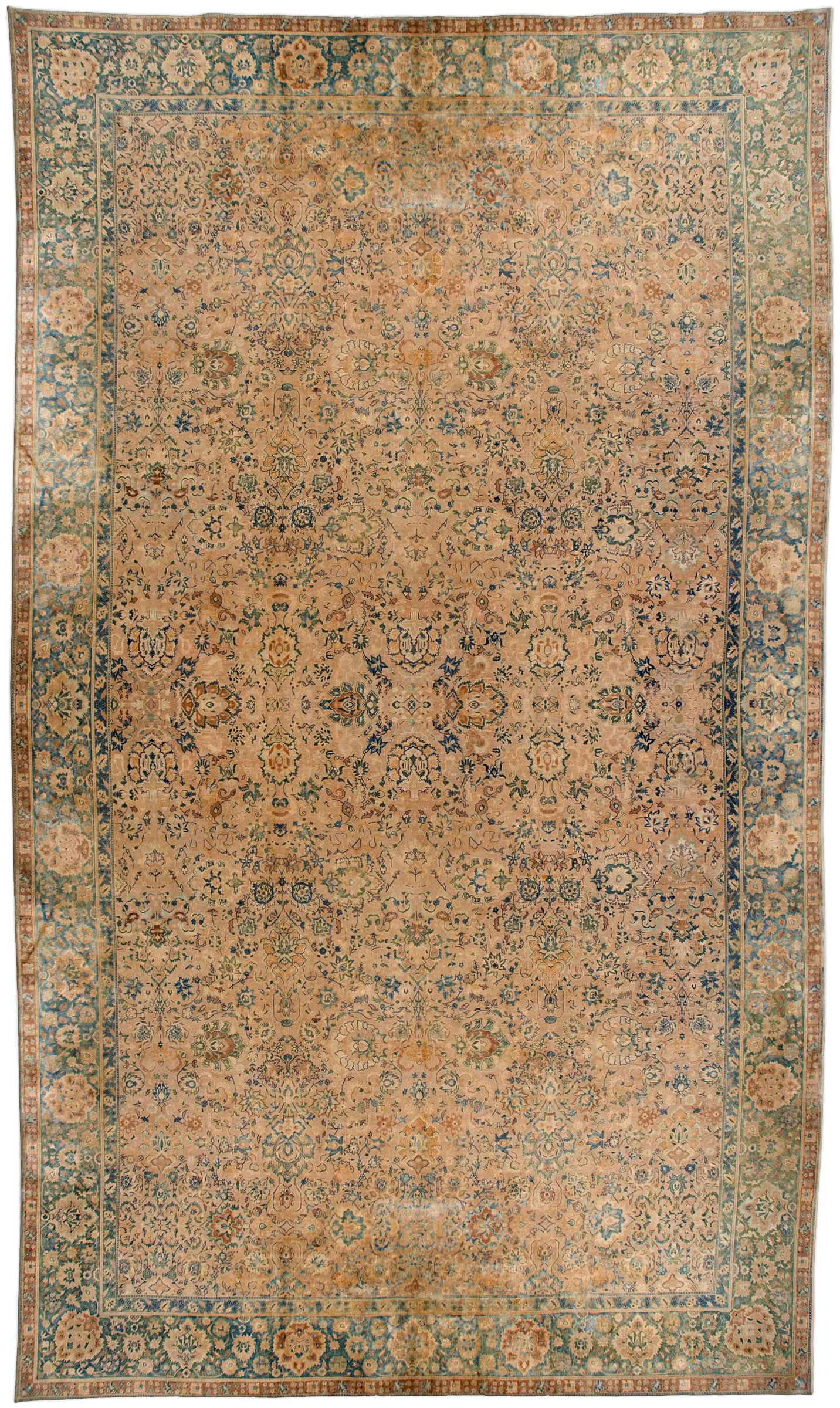 Oversized Antique North Indian Rug BB2686