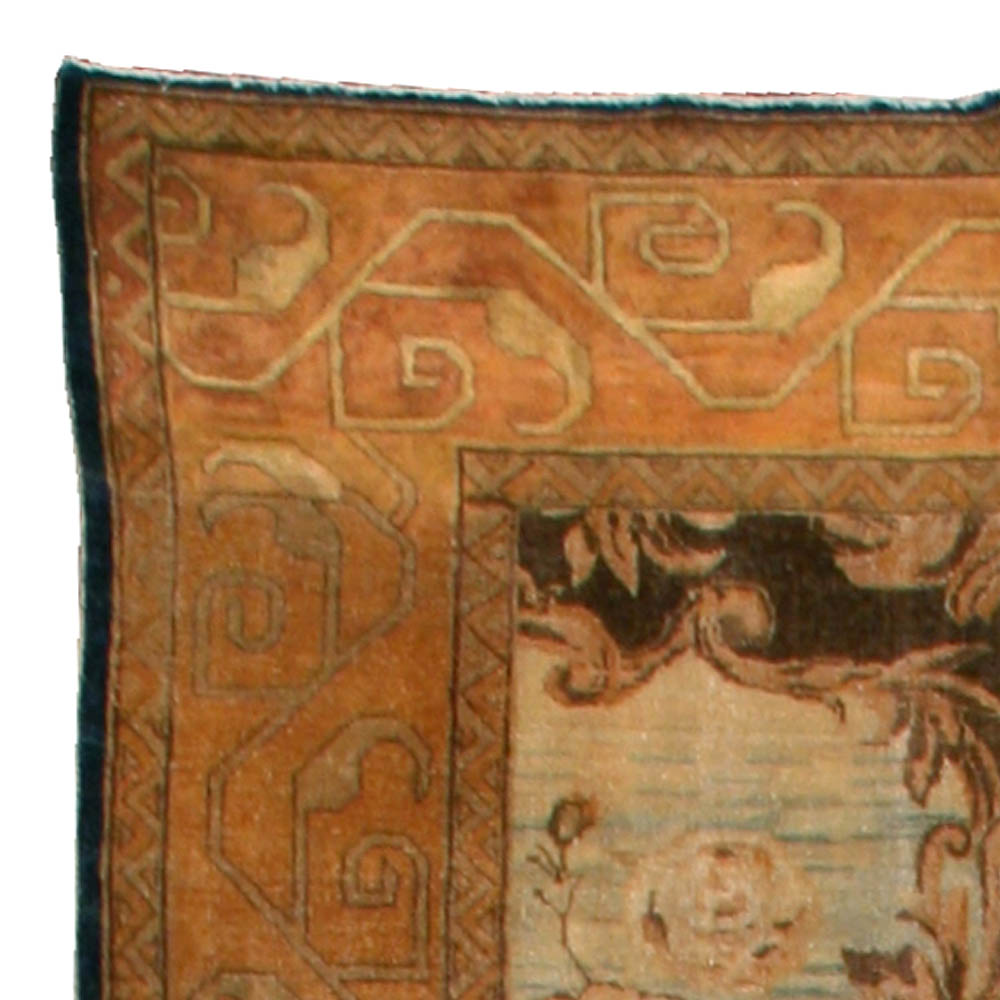 Vintage North Indian Rug (Size Adjusted) BB1112