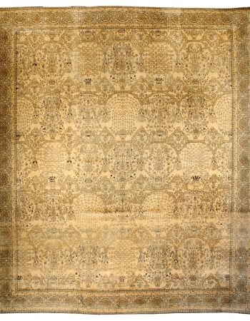 Oversized Vintage Indian Carpet (size adjusted) BB3324