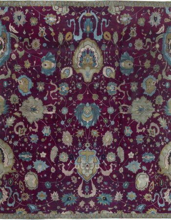 Antique Indian Rug BB6409