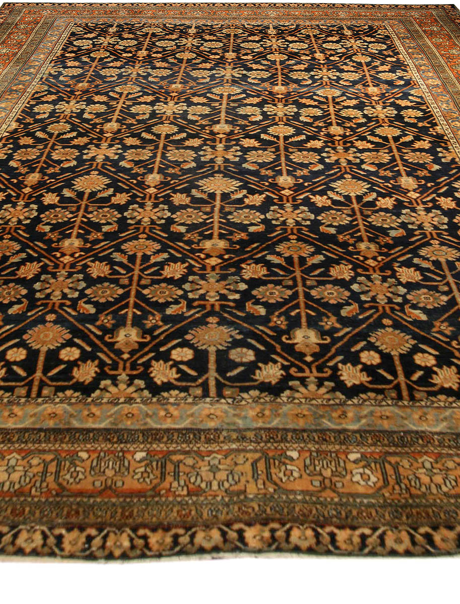 Antique Persian Heriz Carpet Bb4077 By Doris Leslie Blau