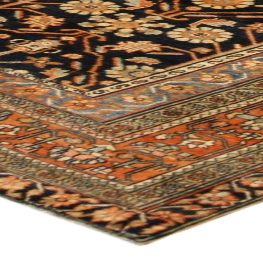 Antique Persian Heriz Carpet BB4077
