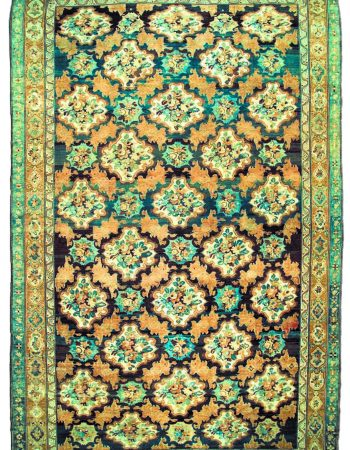 Oversized Antique Persian Bakhtiari Rug BB2771