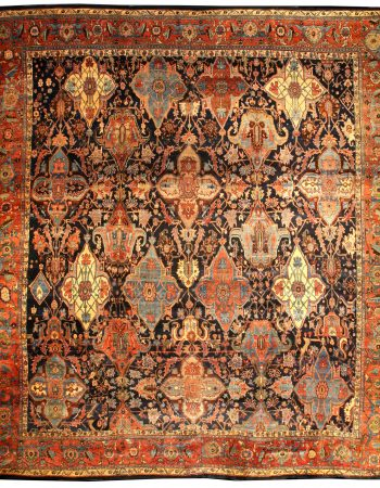 Oversized Vintage Persian Bidjar Rug (size adjusted) BB0688