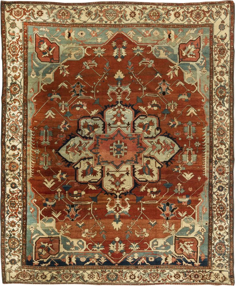 Persian Heriz Rug BB6354 By Doris Leslie Blau