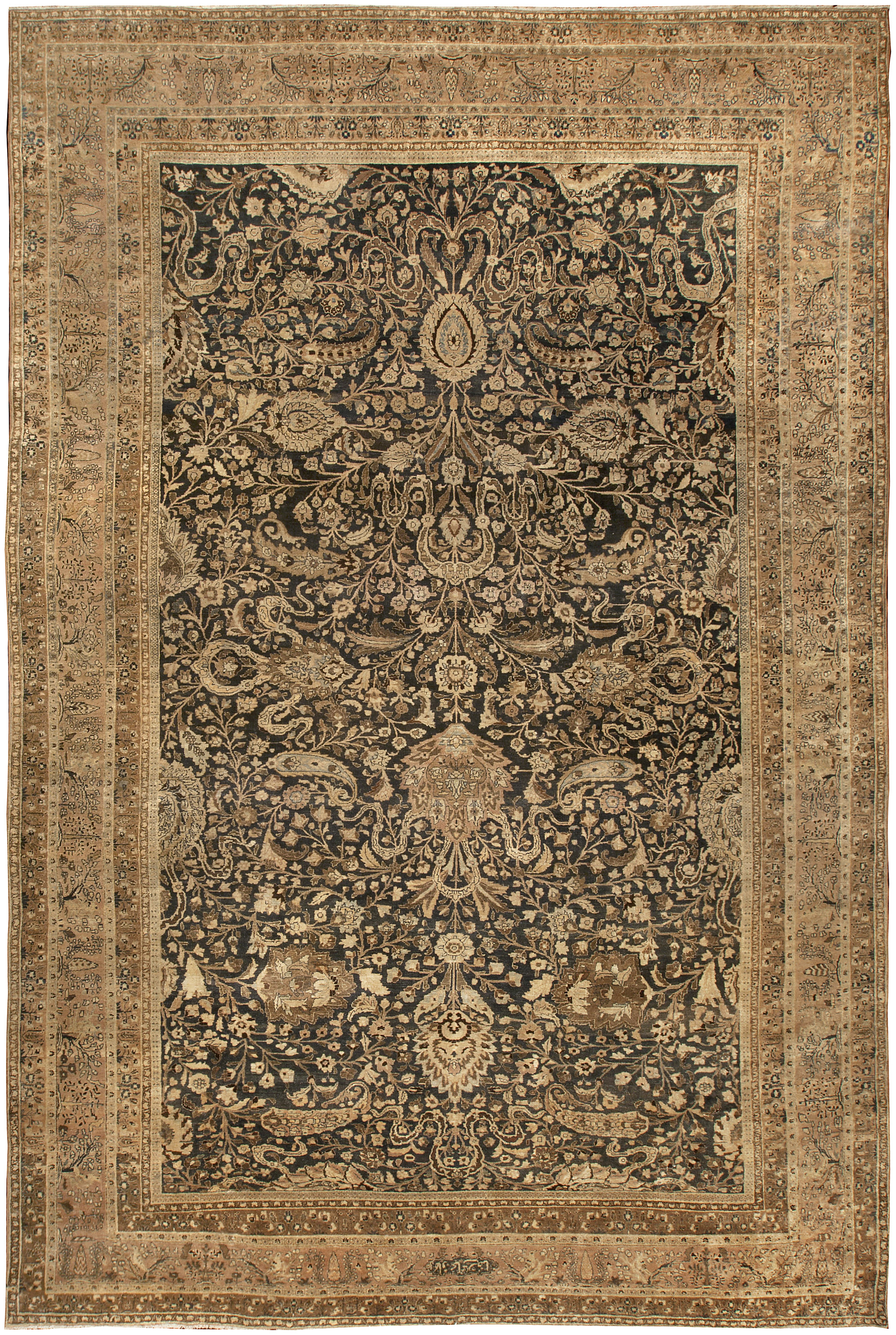 Antique Persian Khorassan Rug Bb4937 By Dlb