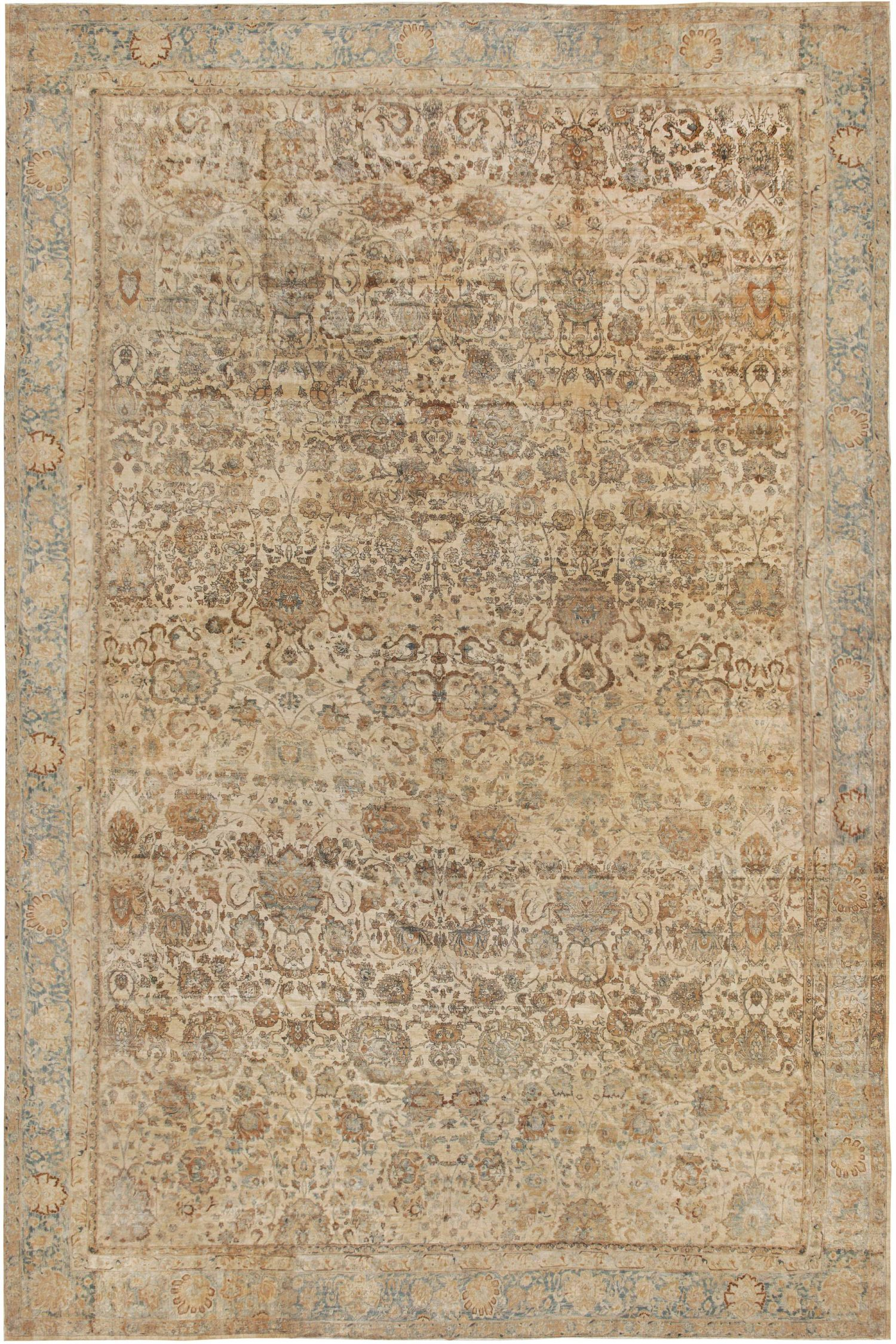 Extra Large Antique Persian Kirman Rug BB6126