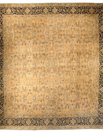 De gran tamaño persa antiguo Kirman Alfombra BB3867