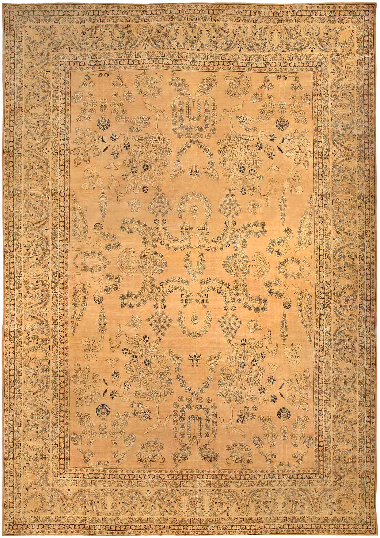 Vintage Persian Kirman Rug BB4100