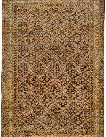 Antique Persian Kirman Rug BB0274