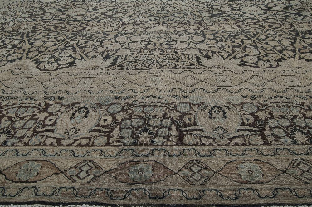 Antique Persian Tabriz Rug BB4355