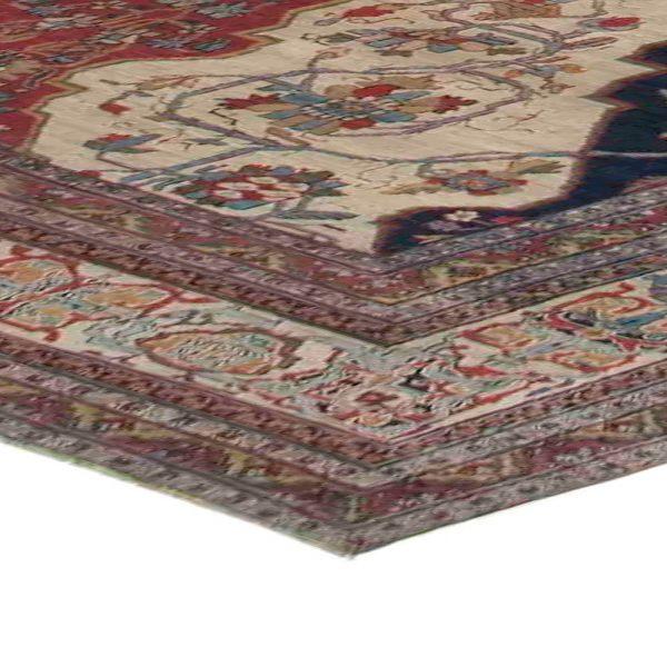 Oversized Antique Persian Kirman Rug BB3727
