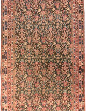 Antique Persian Kirman Carpet BB4584