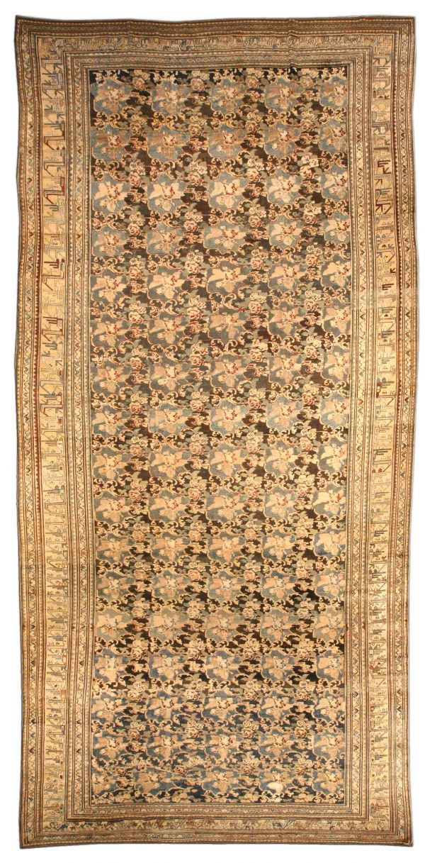Vintage Persian Malayer Carpet BB4083