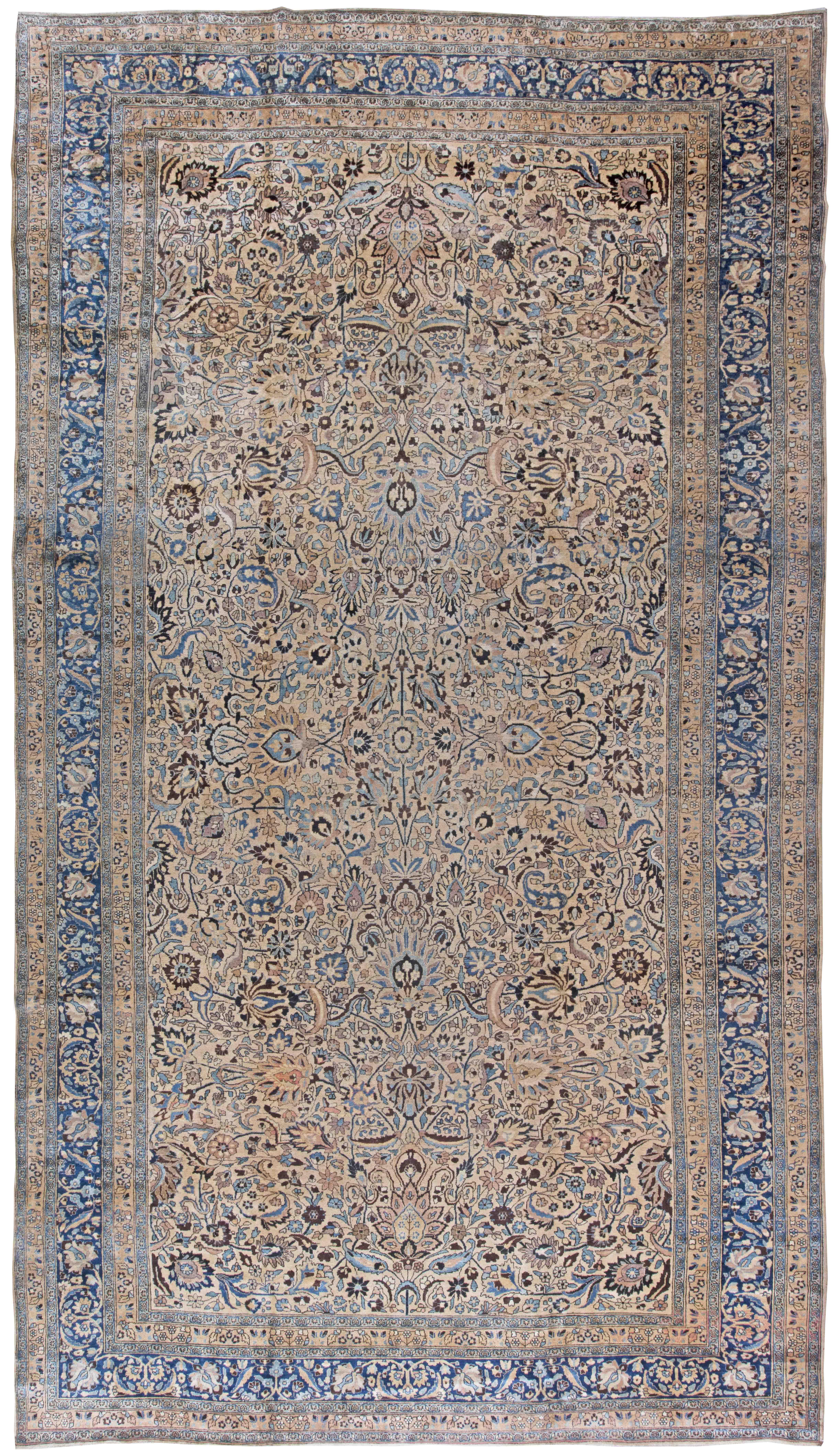 Antique Persian Meshad Carpet BB2444
