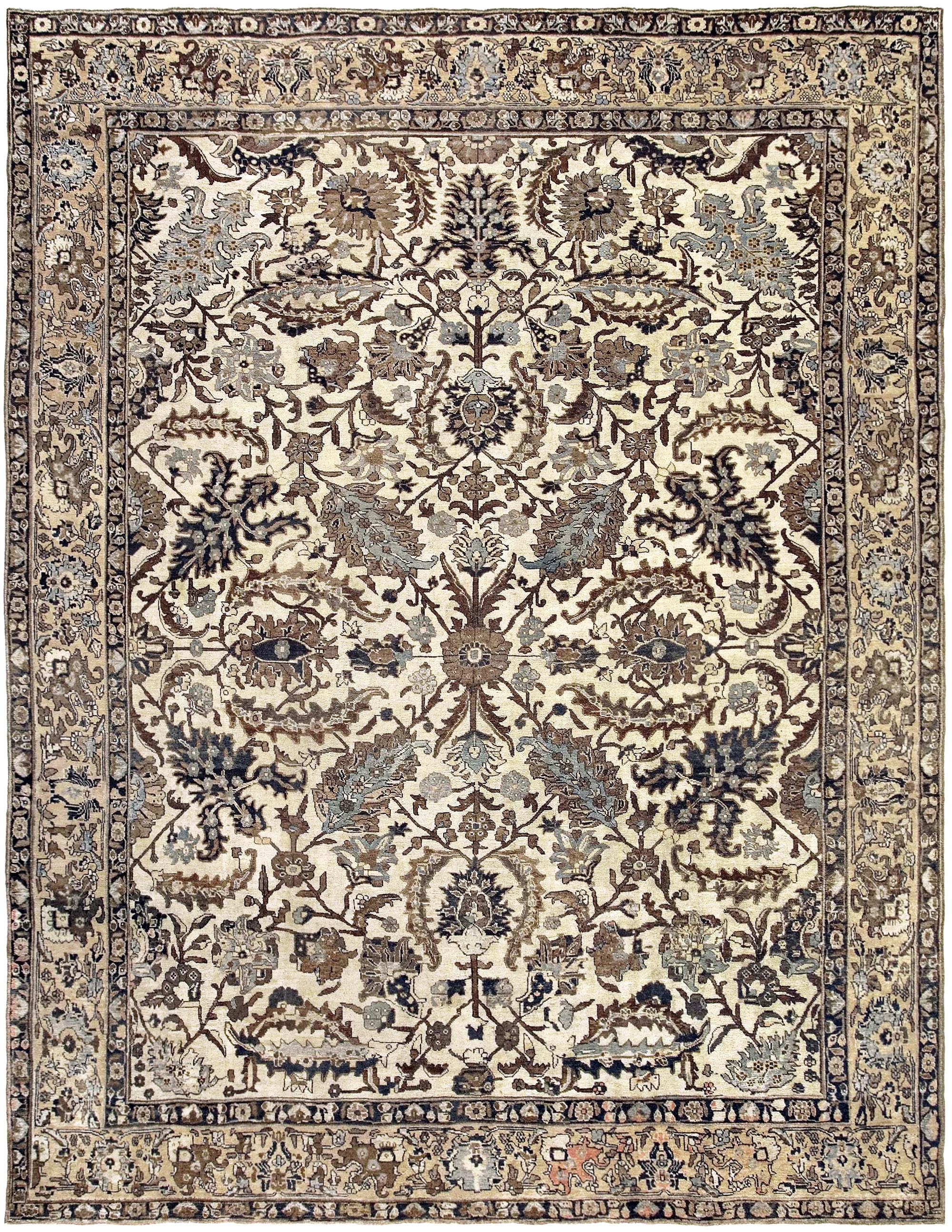 Antique Tabriz Rug BB3398