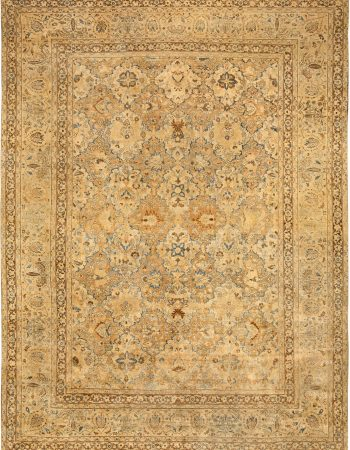Antique Persian Meshad Rug BB3987