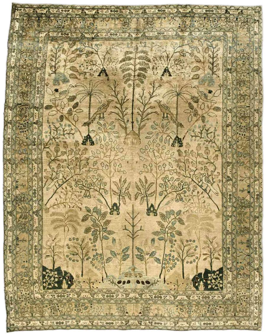 Antique Persian Meshad Carpet BB3230