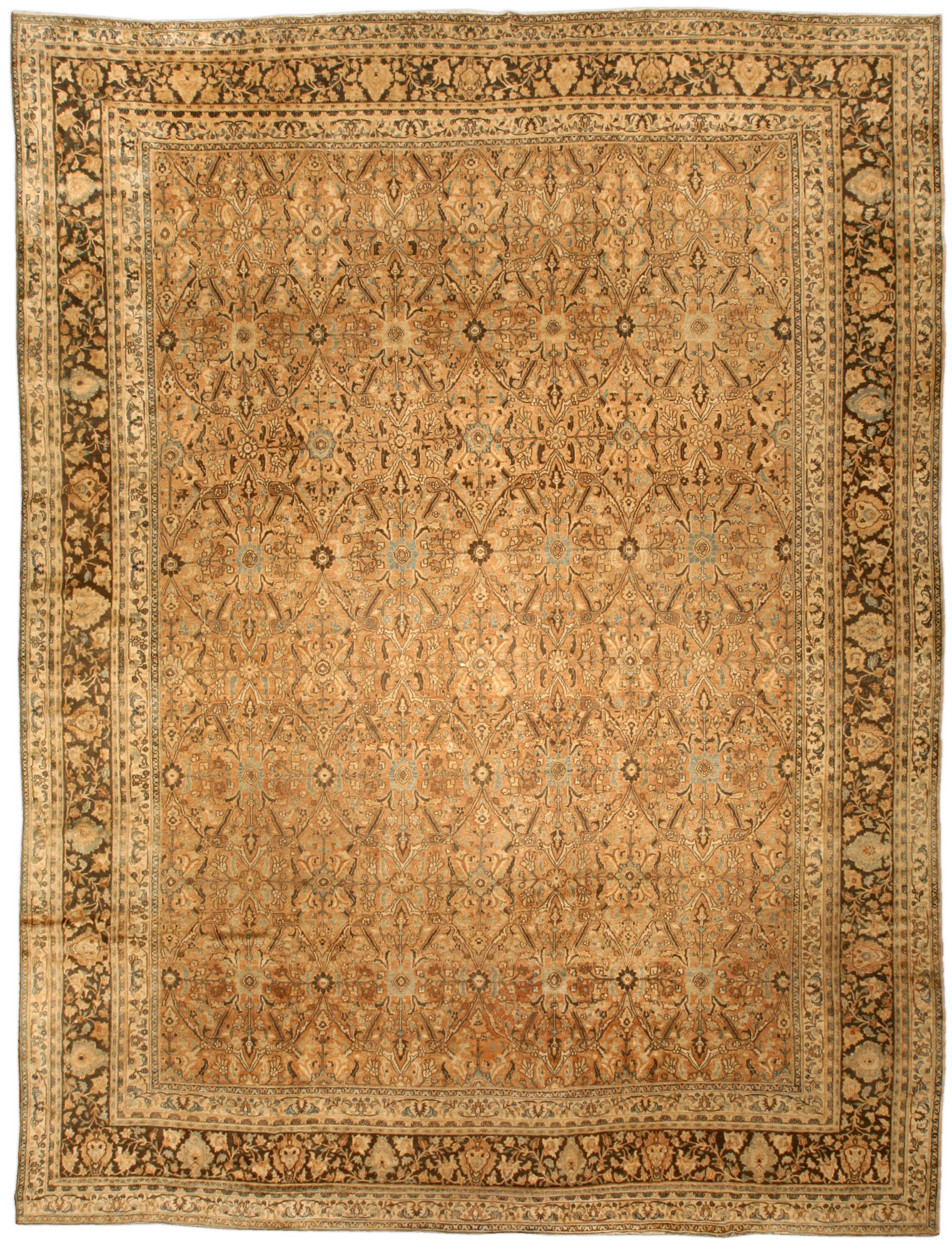 Antique Persian Meshad Carpet BB4658