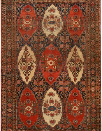 Antique Persian Senneh Teppich BB2628