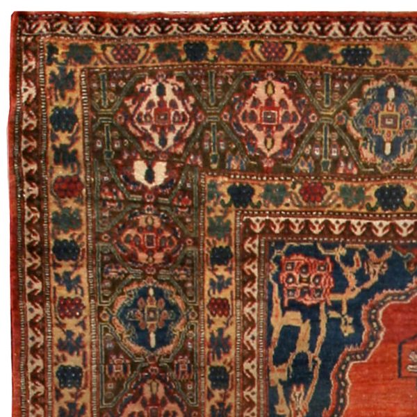 Antique Persian Senneh Tapete BB2628