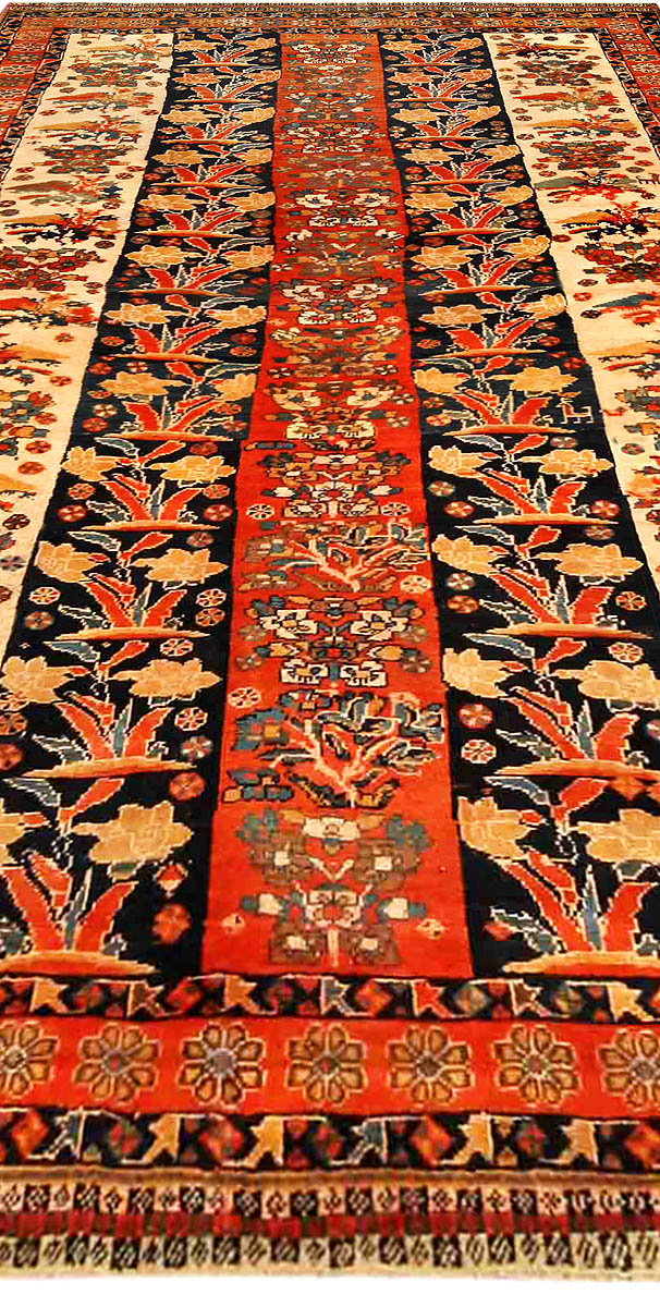 Antique Persian Shiraz Carpet BB4177
