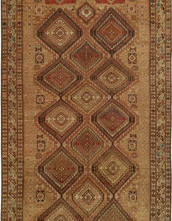 Antique Caucasian Shirvan Rug BB5070
