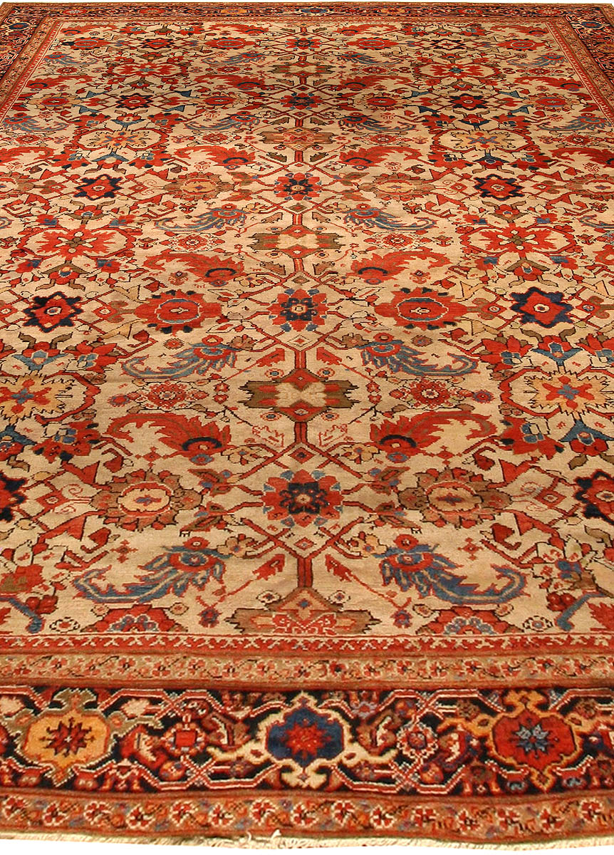Antique Persian Sultanabad Rug BB0553