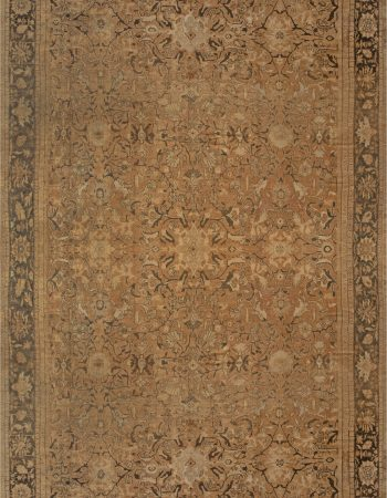 1900s Persian Sultanabad Red, White and Blue Handwoven Wool Rug BB7027