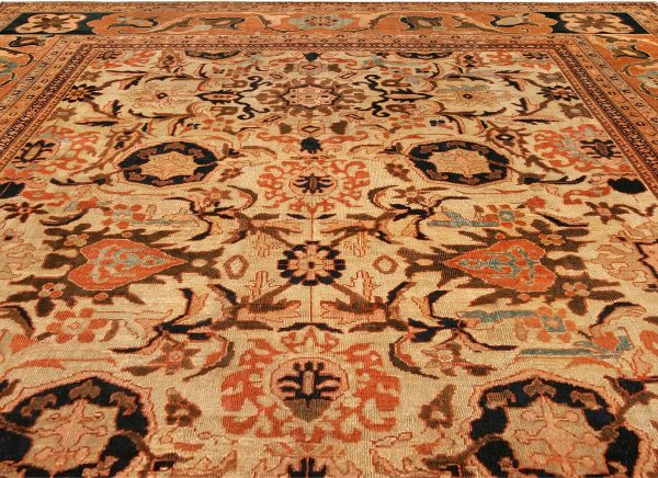 Antique Persian Sultanabad Carpet BB4294