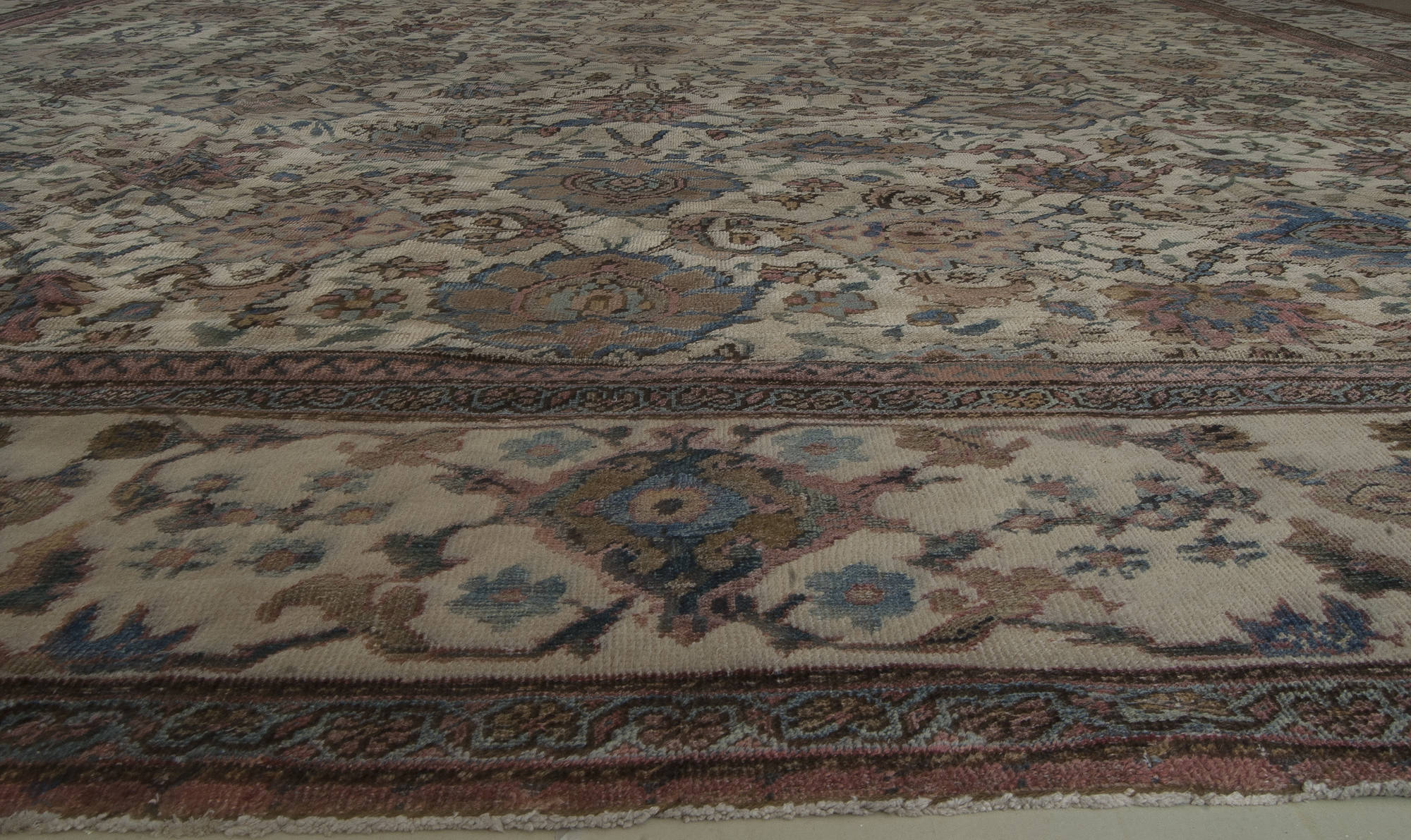 Antique Persian Sultanabad Rug Bb4605 By Dlb