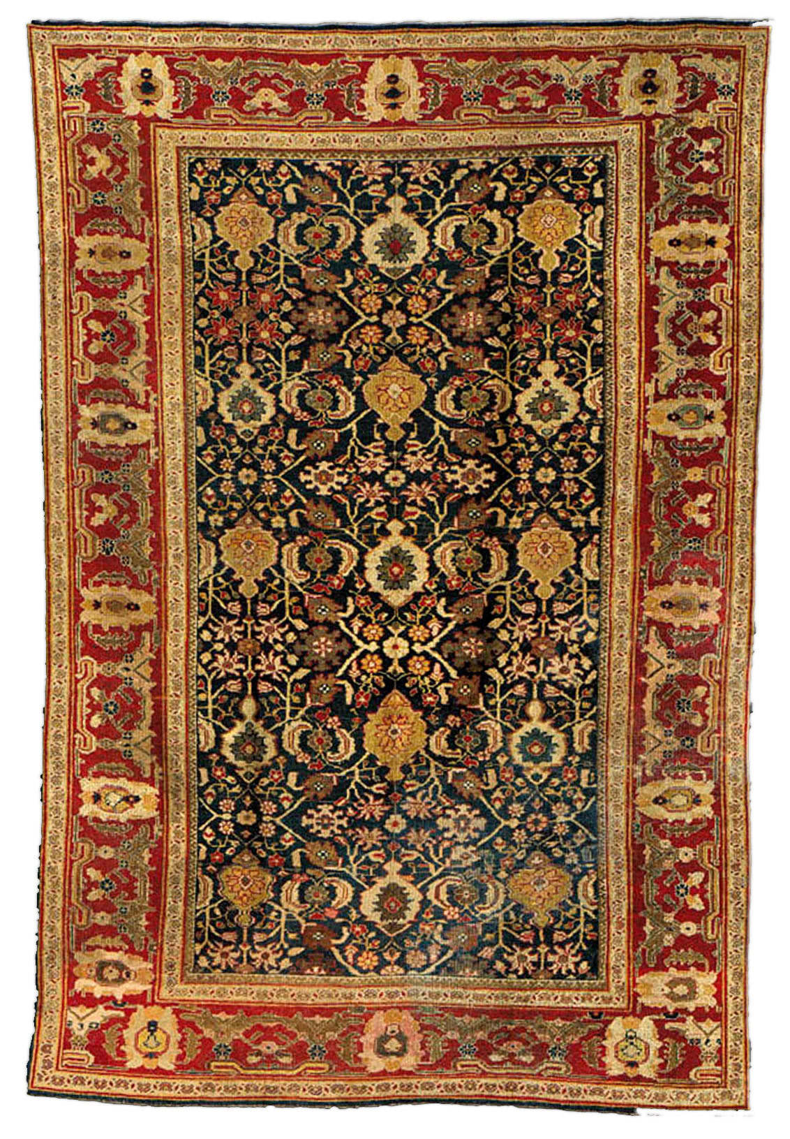 Antique Persian Sultanabad Rug BB1350