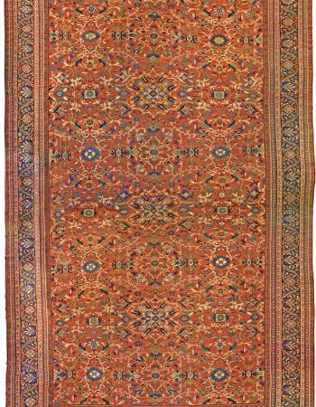 Vintage Persian Sultanabad Rug (size adjusted) BB0946