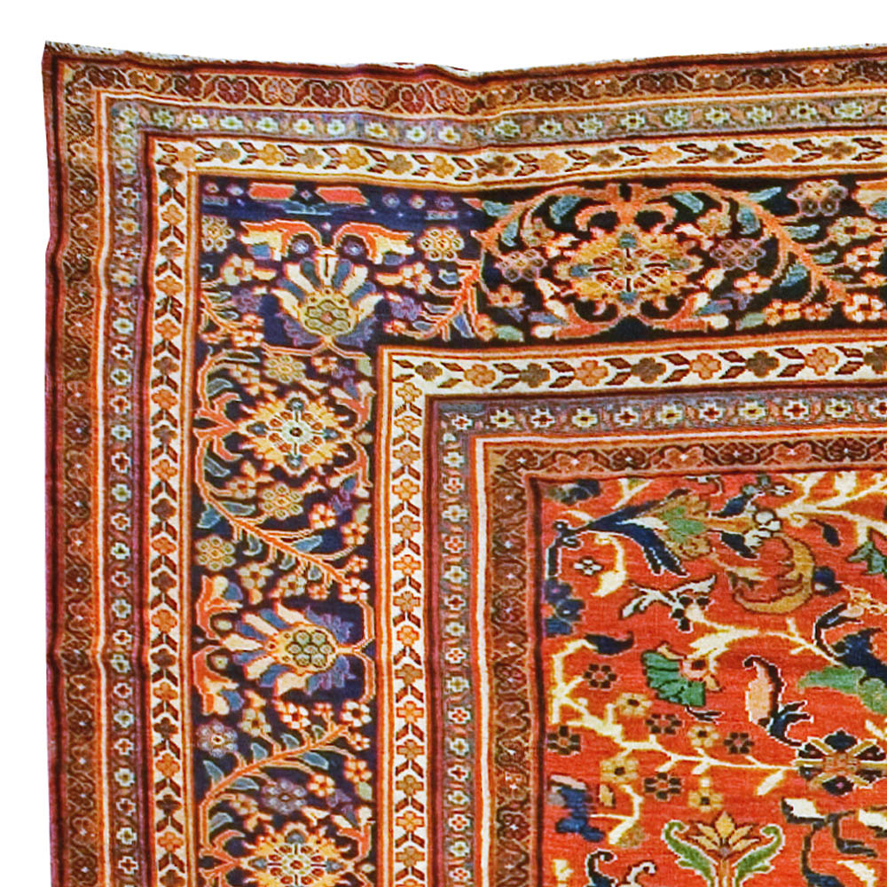 Vintage Persian Sultanabad Rug (size Adjusted) BB0946 By
