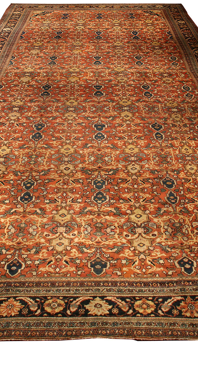 Antique Persian Sultanabad Rug Bb0209 By Dlb