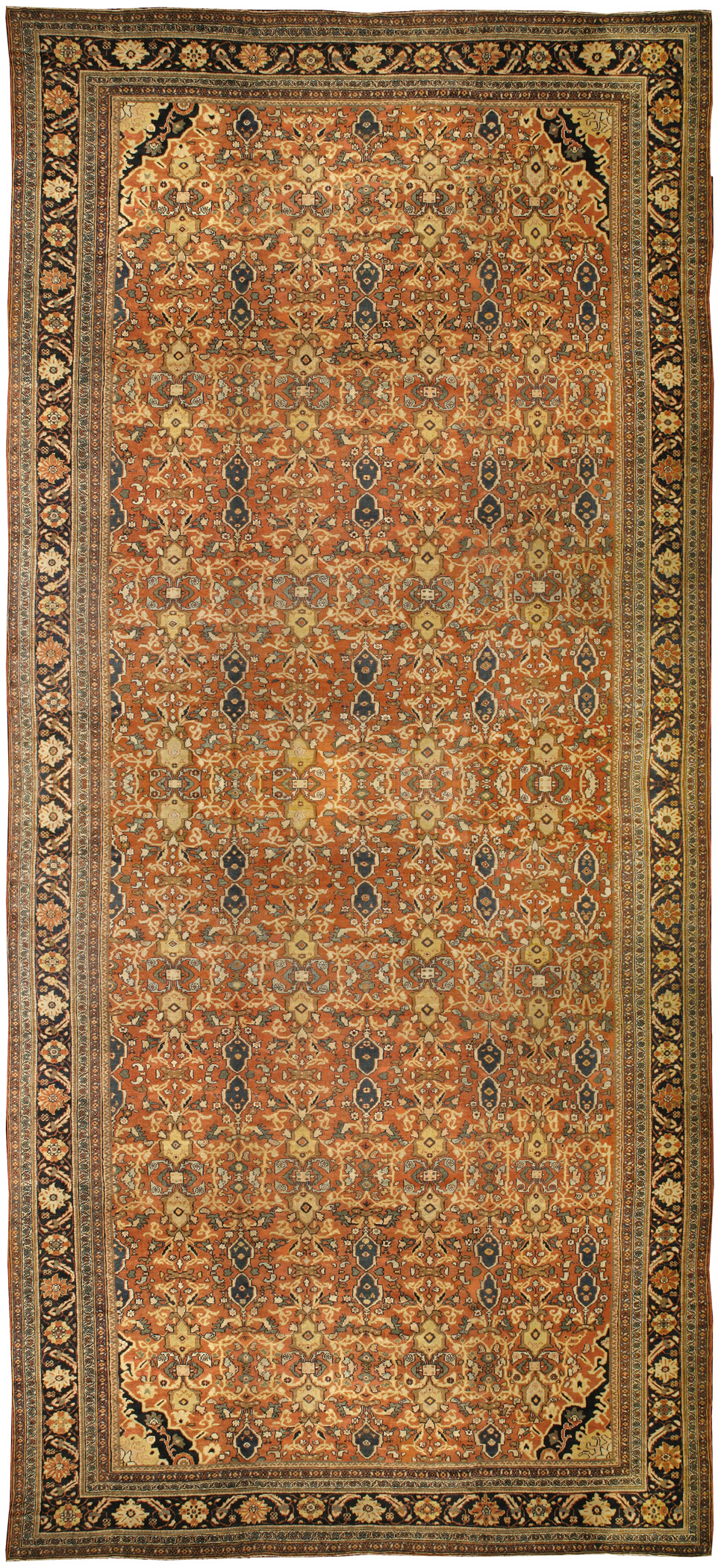 Antique Persian Sultanabad Rug BB0209