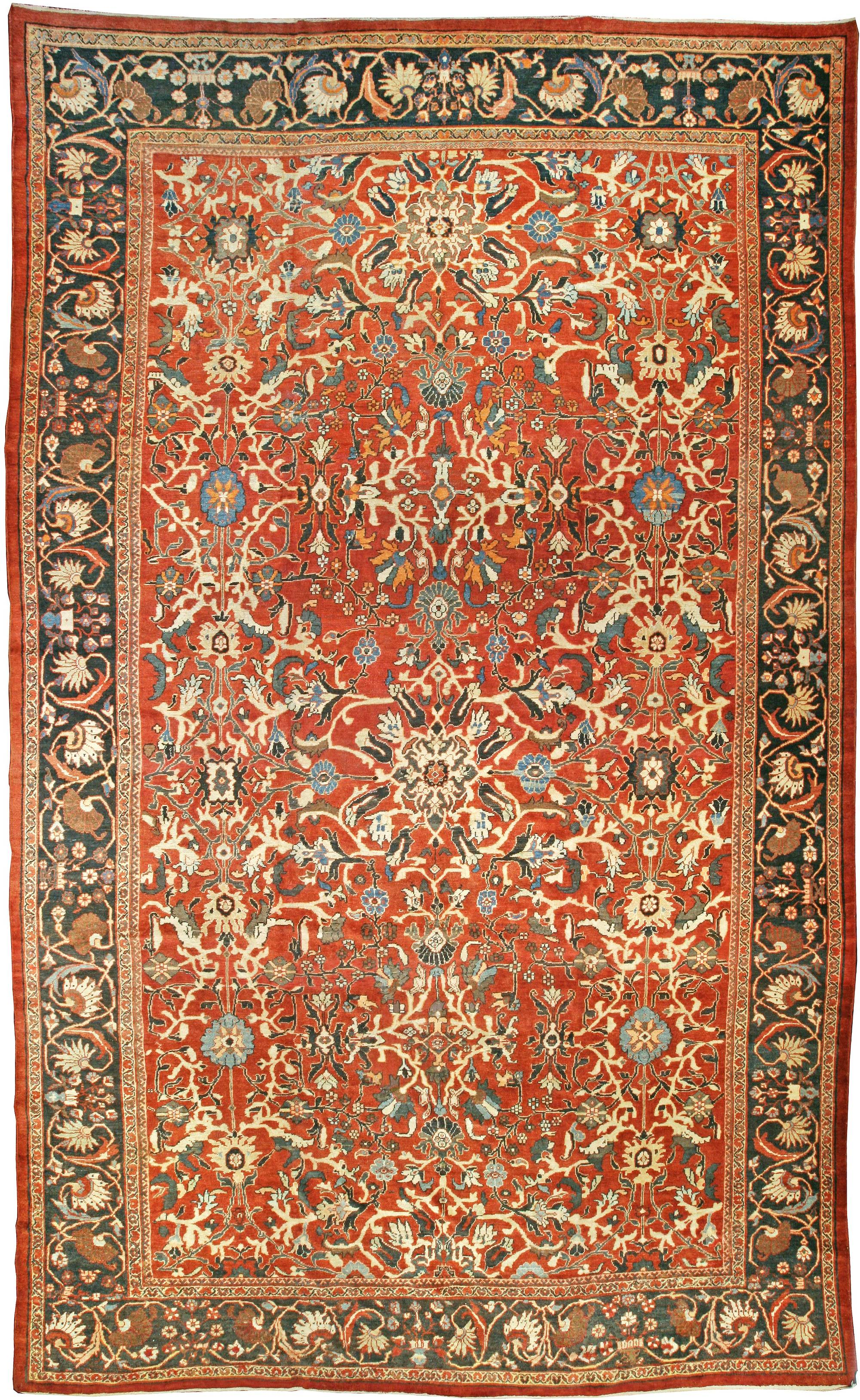Antique Persian Sultanabad Rug BB0470