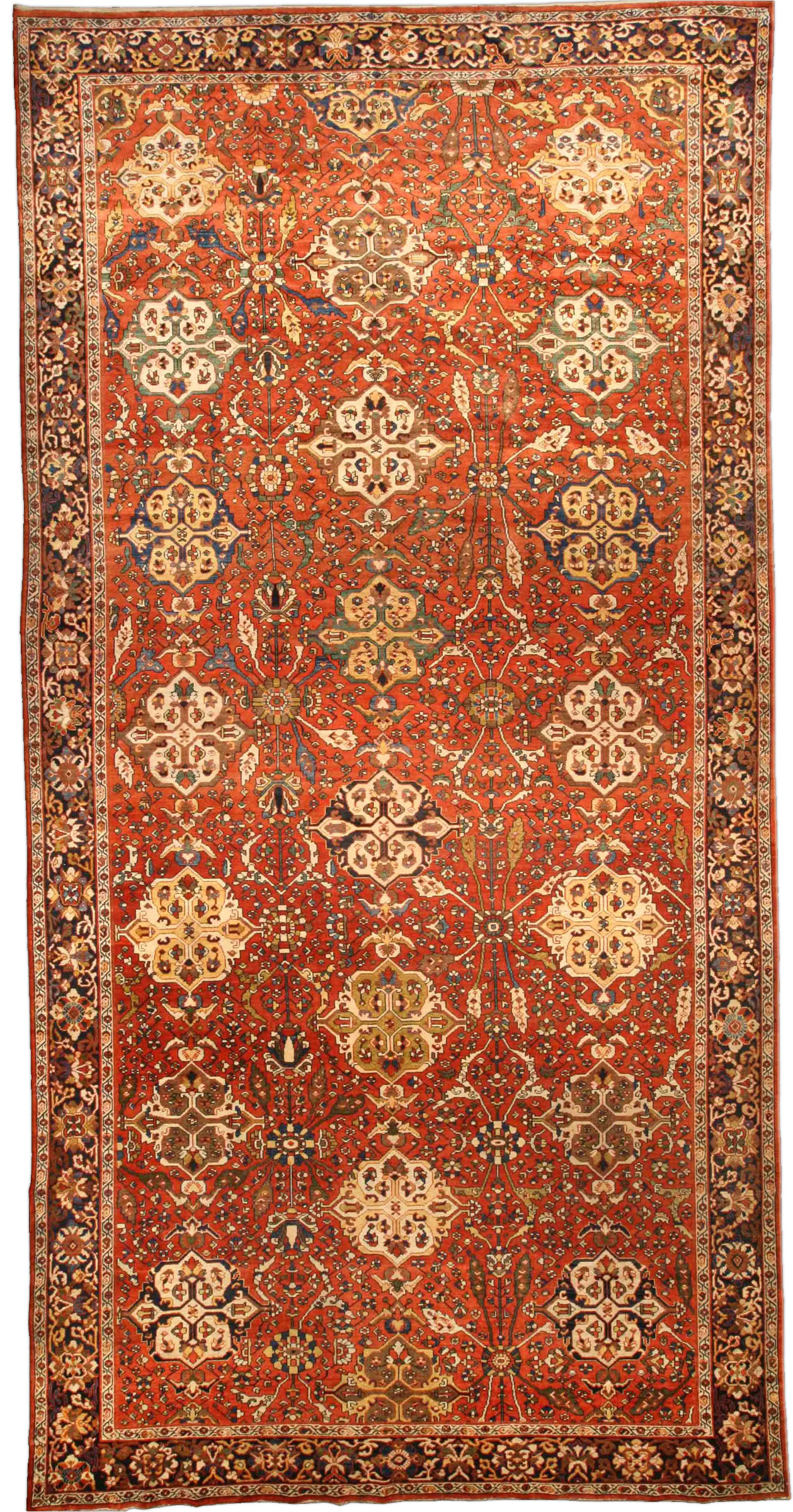 Antique Persian Sultanabad Rug BB4360