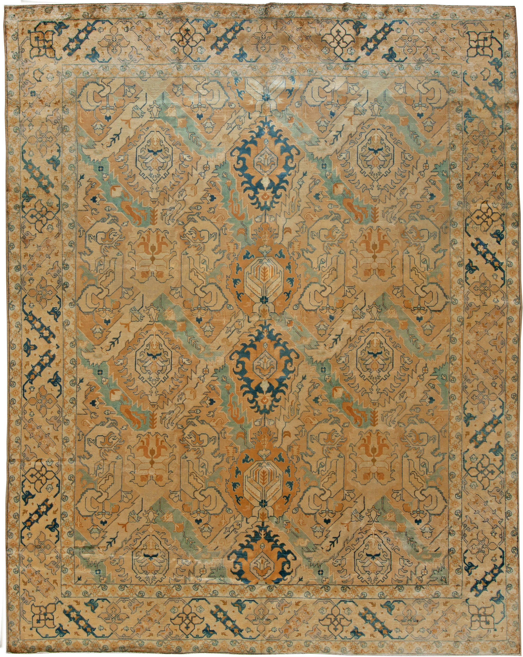 Antique Persian Tabriz Carpet BB5649