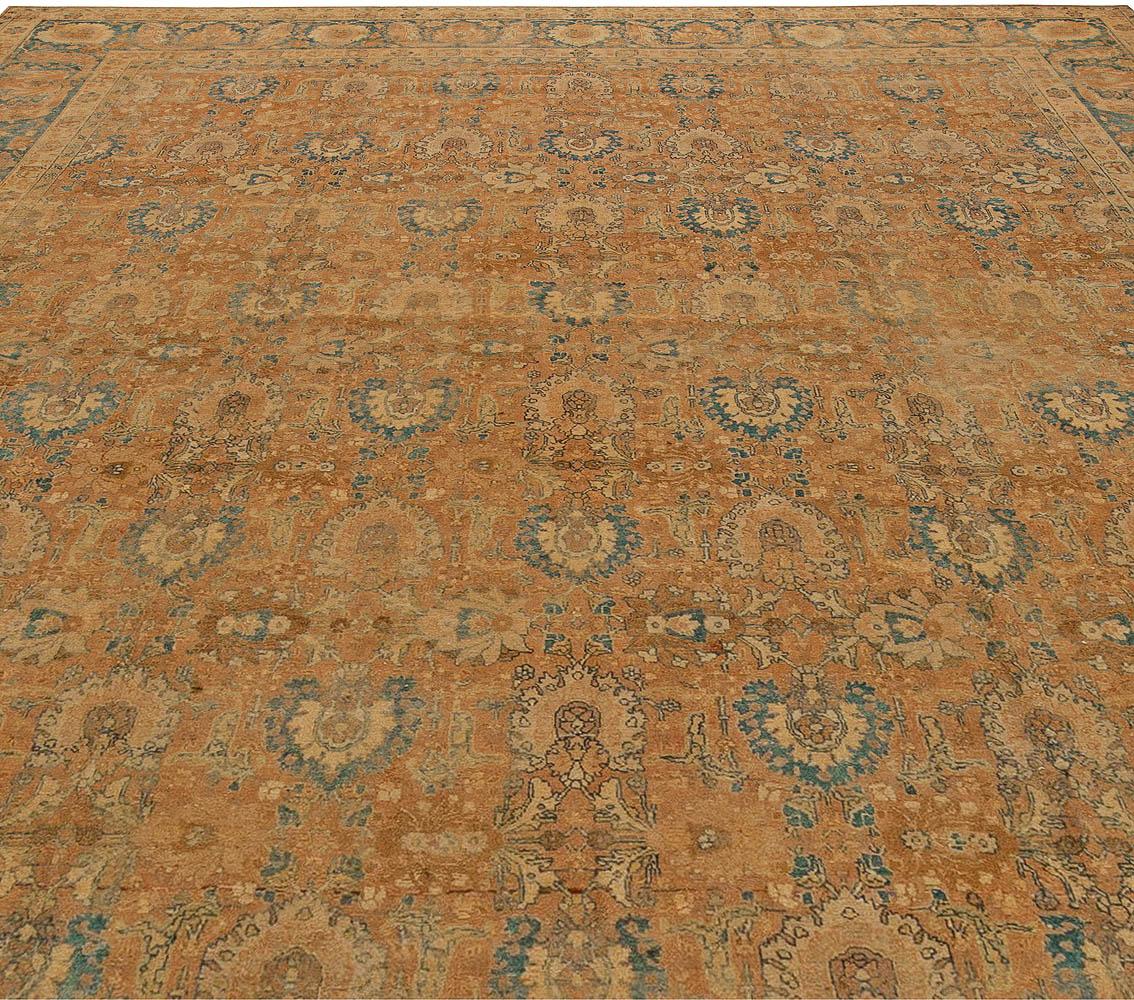 Antique Persian Tabriz Carpet BB5648