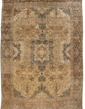 Oversized Antique Persian Tabriz Carpet BB0917