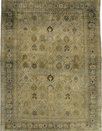 Vintage Persian Tabriz Carpet BB2375